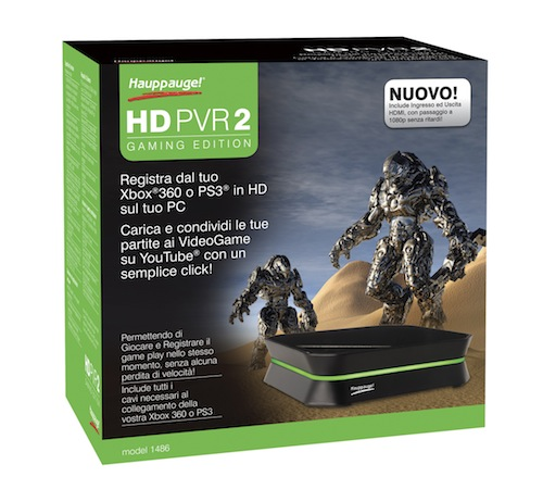 HD PVR 2 Gaming Edition - Confezione
