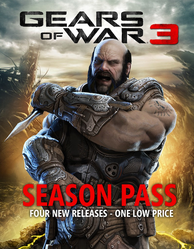 Season Pass di Gears Of War 3